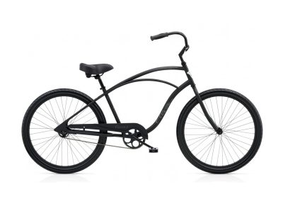 Electra Cruiser 1 (matte black, steel, single-speed)