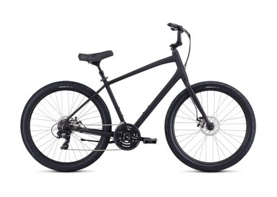 2019 Specialized Roll Sport (fitness / cruiser hybrid bike, black graphite)