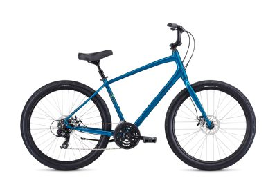 2019 Specialized Roll Sport (fitness / cruiser hybrid bike, satin teal / ion)