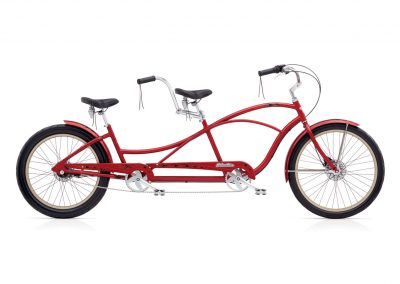 2019 Electra Tandem 7i Hellbetty Cruiser Bike (Red Metallic)