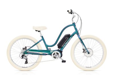 Electra Townie Go! 8d Electric Cruiser Bike with aurora metallic coloring