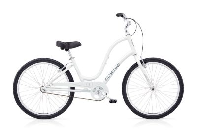 Electra Townie Cruiser 1 white 2019 step-thru womens bicycle