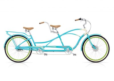 Electra Tandem 7i aqua cream cruiser bike