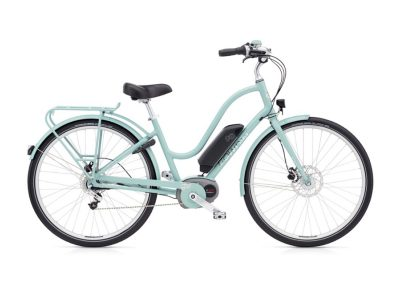 2019 Electra Townie Commute Go 8i Step Through mineral blue electric bike