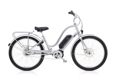 2019 Electra Townie Loft 8i Step Through silver electric bike